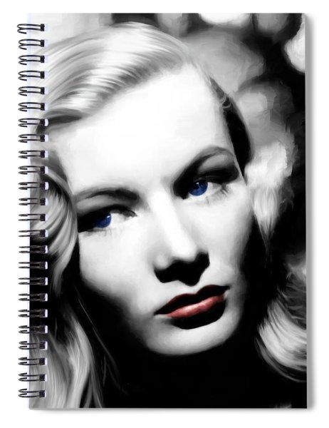 Veronica Lake Portrait #1 Spiral Notebook