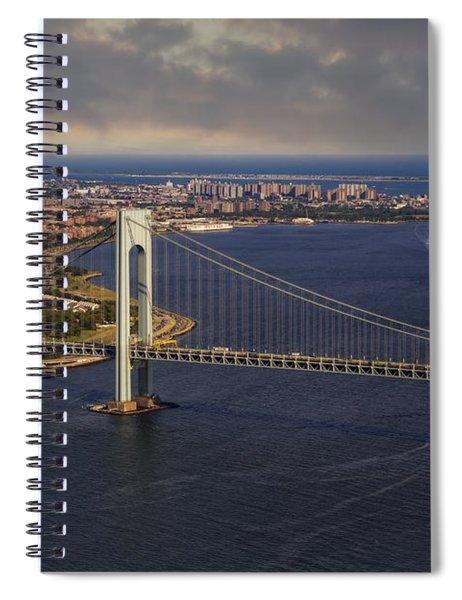 Verrazano Narrows Bridge Nyc Spiral Notebook