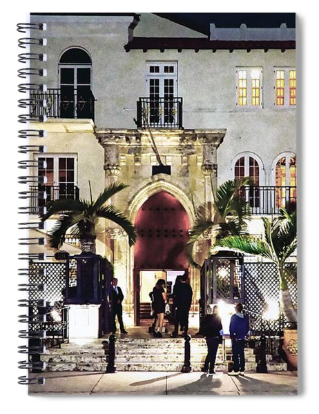 Versace Mansion South Beach Spiral Notebook