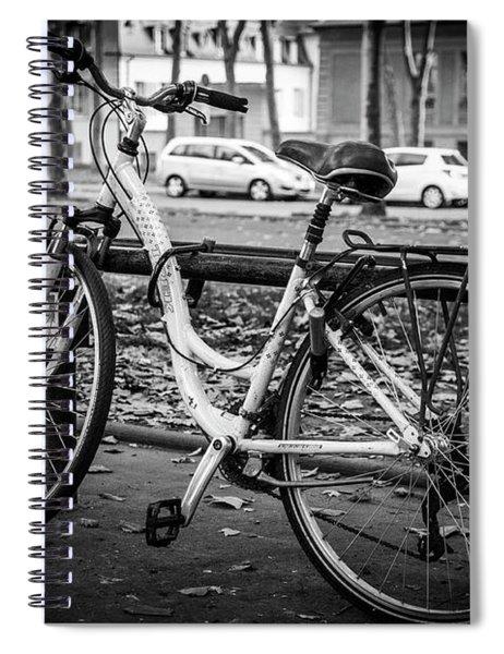 Versailles Bicycle Spiral Notebook