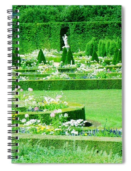Versailles Pathways Spiral Notebook