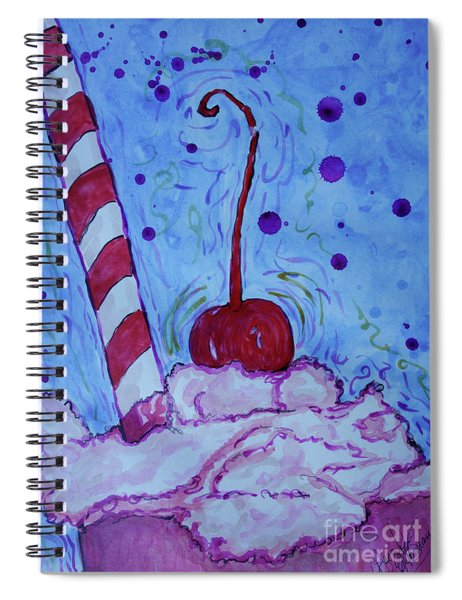 Very Cherry Soda Spiral Notebook