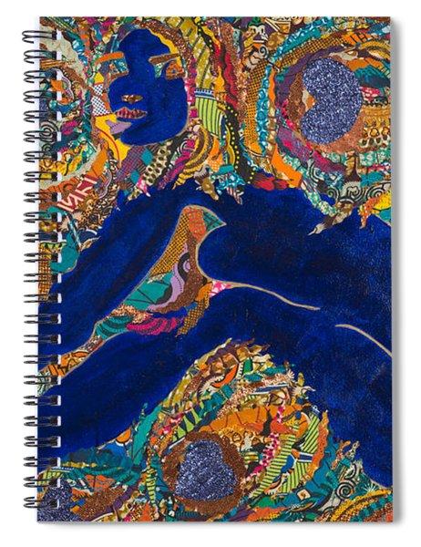 Vesica  Pisces Spiral Notebook