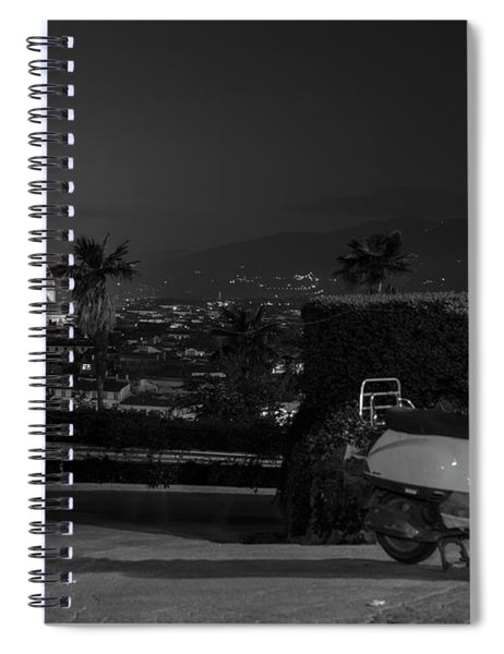 Vespa In Florence Italy  Spiral Notebook