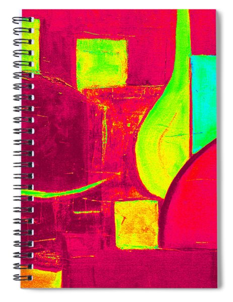 Vessels Very Colorful Spiral Notebook
