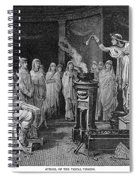 Vestal Virgins Spiral Notebook