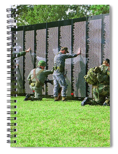 Veterans Memorial Spiral Notebook