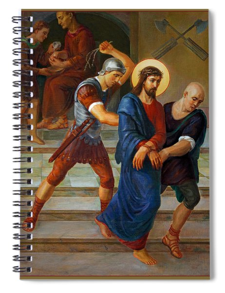 Via Dolorosa - Stations Of The Cross - 1 Spiral Notebook