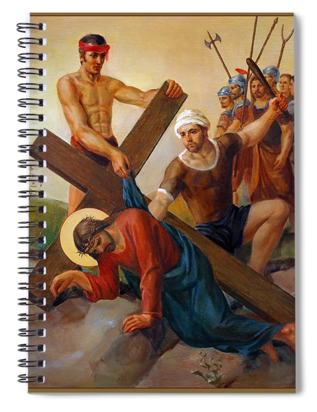 Via Dolorosa - The Second Fall Of Jesus - 7 Spiral Notebook