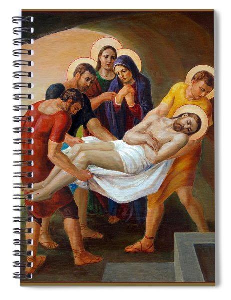 Via Dolorosa - The Way Of The Cross - 14 Spiral Notebook