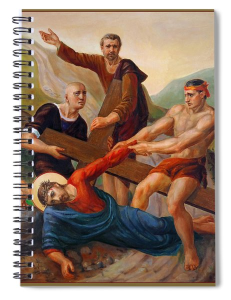 Via Dolorosa - Way Of The Cross - 9 Spiral Notebook