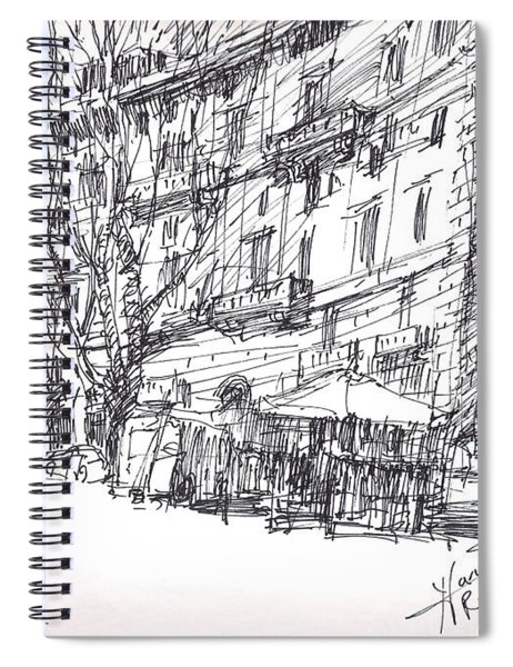 Via Nomentana Rome Spiral Notebook