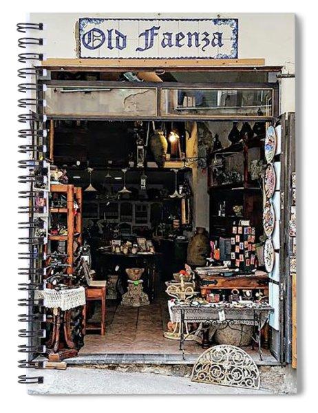 Via Pietro Capuano Shopping - Amalfi, Italy Spiral Notebook