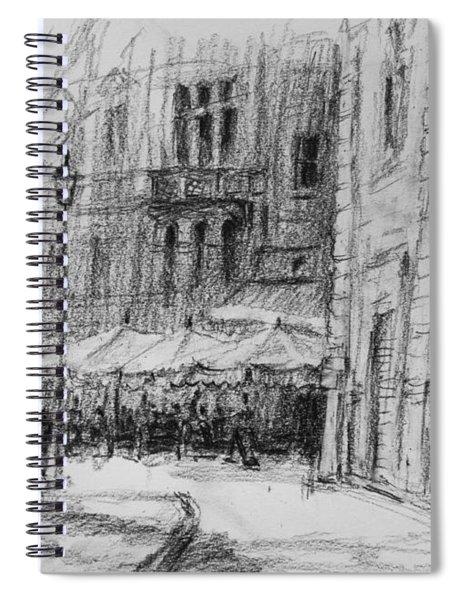 Via Veneto, Rome Spiral Notebook