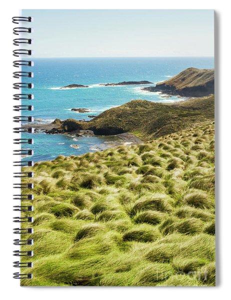 Vibrant Cape Seascape Spiral Notebook