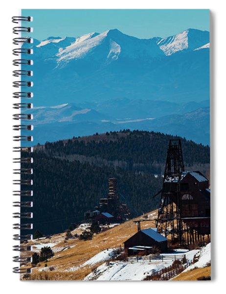 Victor Gold Mine Spiral Notebook