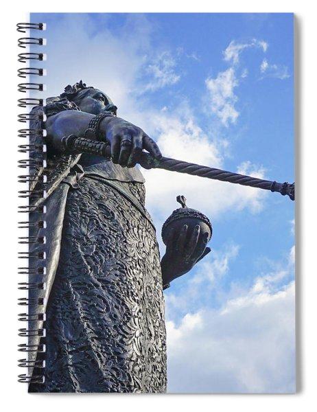 Victoria At Windsor Castle Spiral Notebook