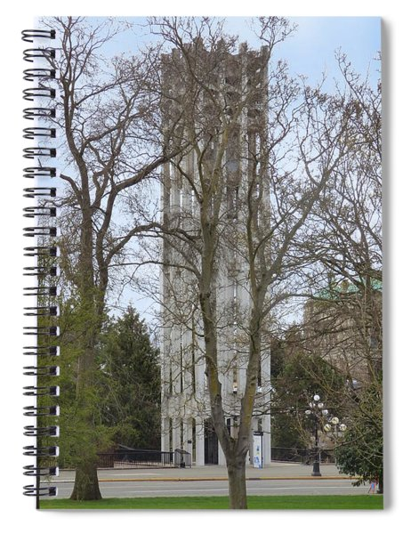 Victoria British Columbia Cariillon Tower Spiral Notebook