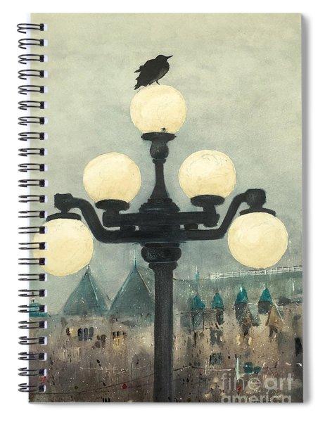 Victoria Evening Spiral Notebook