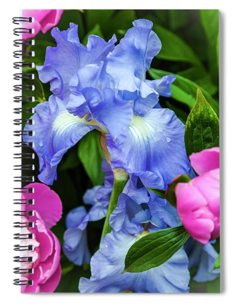 Victoria Falls Iris Spiral Notebook
