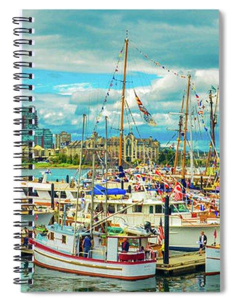Victoria Harbor 2 Spiral Notebook