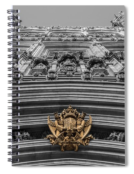 Victoria Tower Low Angle London Spiral Notebook
