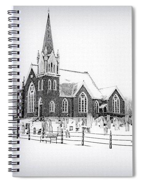 Victorian Gothic Spiral Notebook