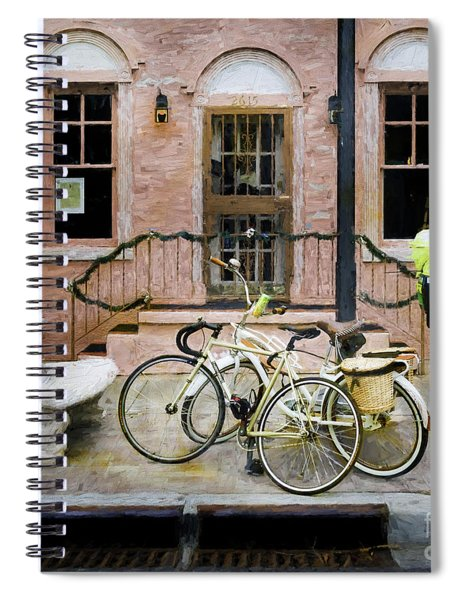 Victoria's Bicycles Spiral Notebook