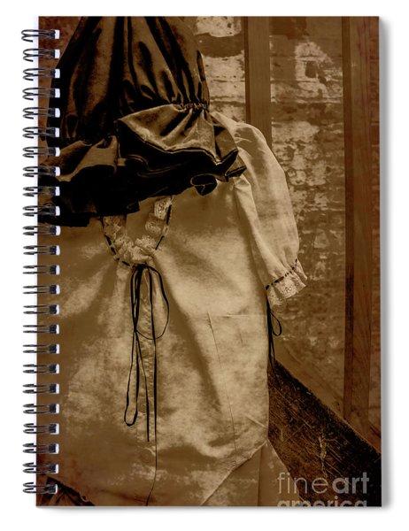 Victorias Gown Spiral Notebook