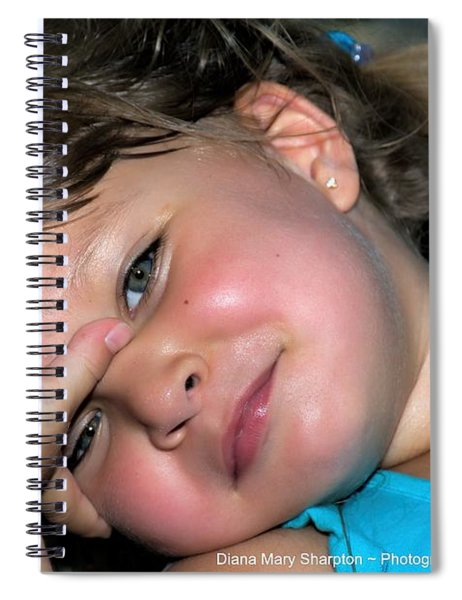 Victorias Smile Spiral Notebook