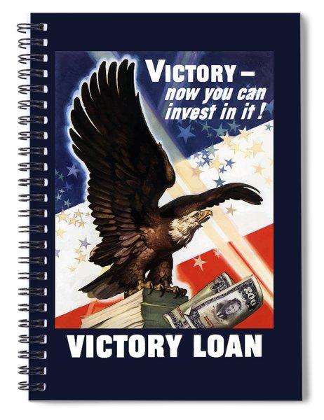 Victory Loan Bald Eagle Spiral Notebook
