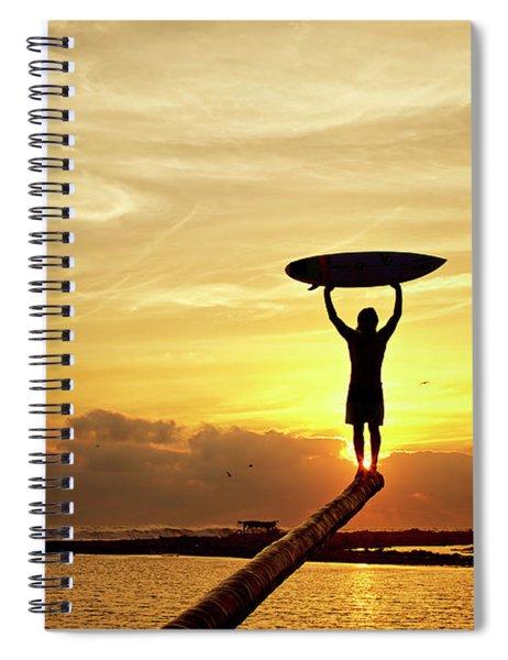 Victory Spiral Notebook