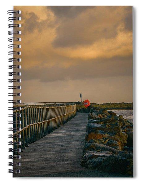 View At Staffin 1 #g9 Spiral Notebook