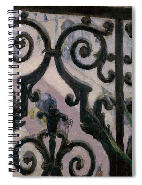 View From A Balcony Spiral Notebook