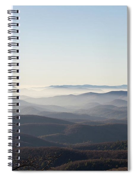 View From Blood Mountain Spiral Notebook