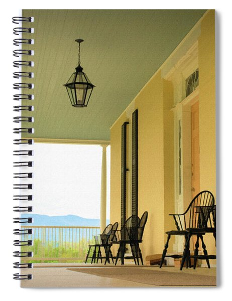 View From Cedar Grove Spiral Notebook
