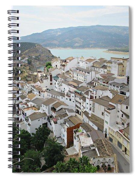 View From Iznajar Spiral Notebook