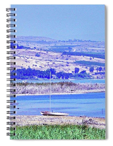 View From Kibbutz Ginosar 3 Spiral Notebook