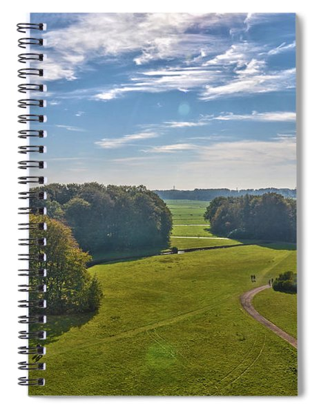 View From Lilac Mountain Spiral Notebook