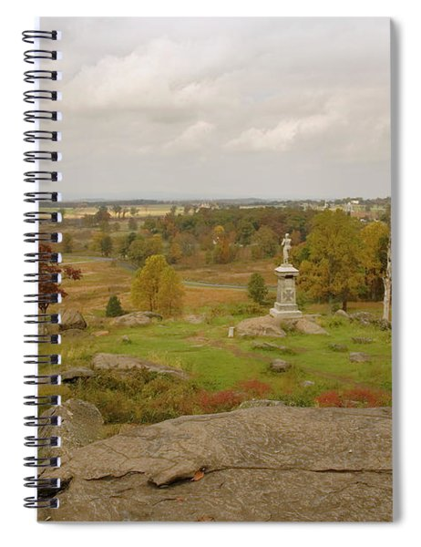 View From Little Round Top 2 Spiral Notebook