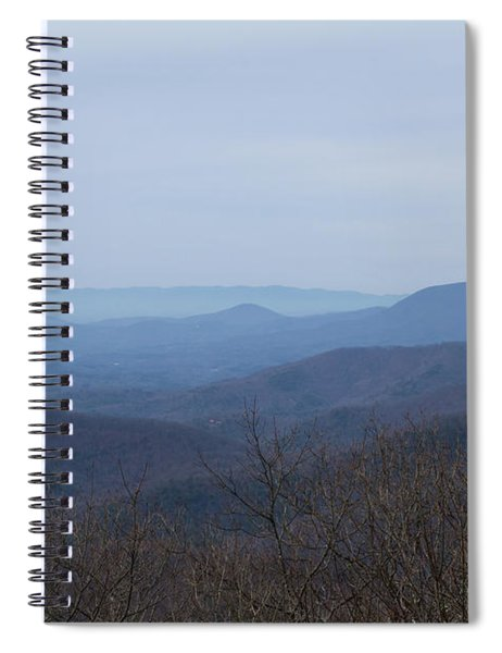 View From Springer Mountain Spiral Notebook