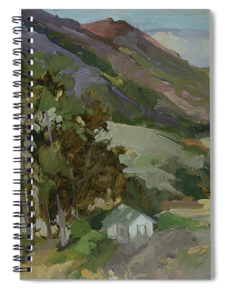 View From The Reservoir - Catalina Island Spiral Notebook