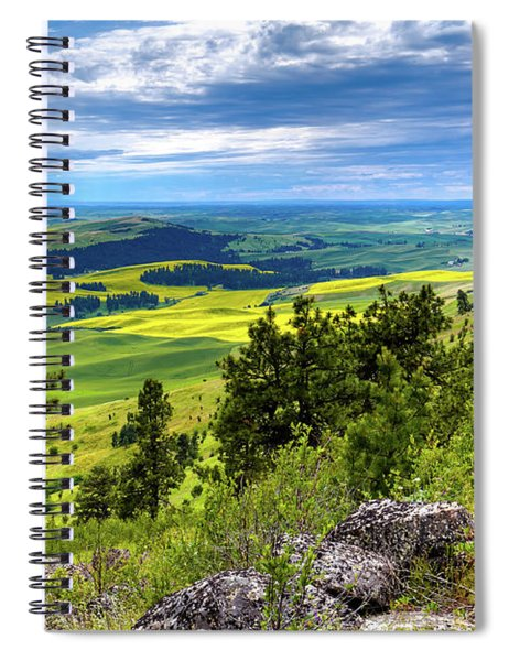 View From The Summit Spiral Notebook
