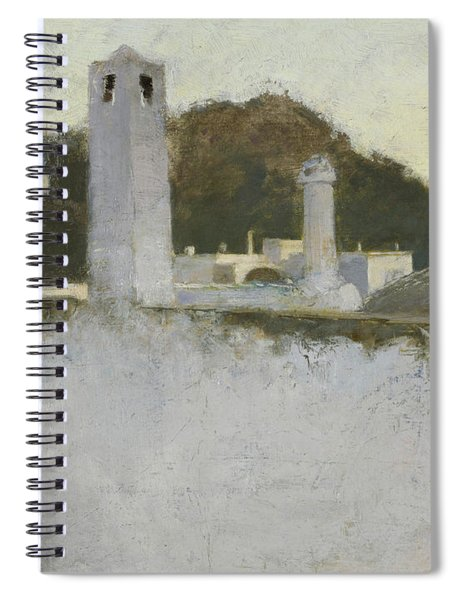 View Of Capri, 1878 Spiral Notebook