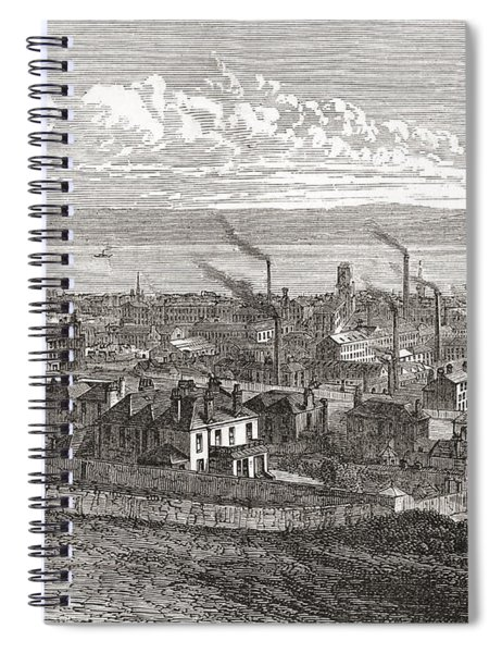 View Of Dundee, Scotland, From The Law Spiral Notebook