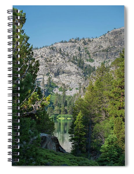 View Of Eagle Lake Spiral Notebook