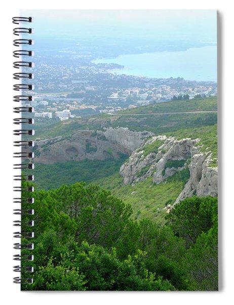 View Of La Ciotat Spiral Notebook