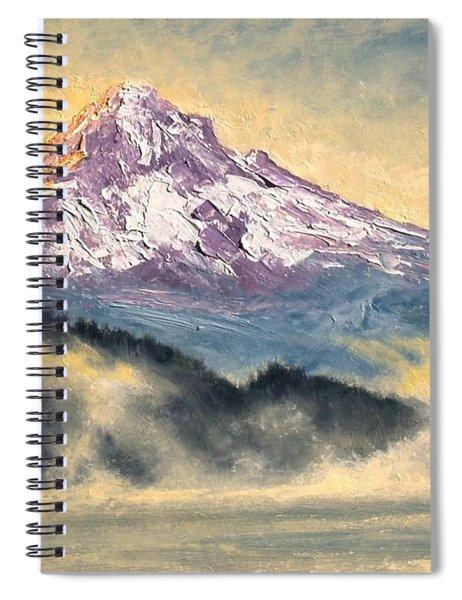 View Of Mt Hood Spiral Notebook