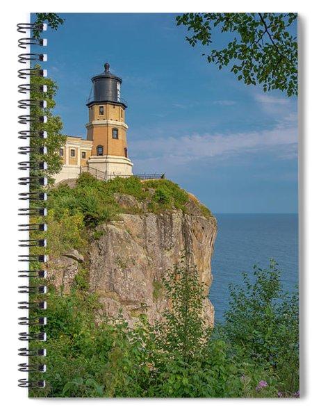 View Of Split Rock Lighthouse Spiral Notebook