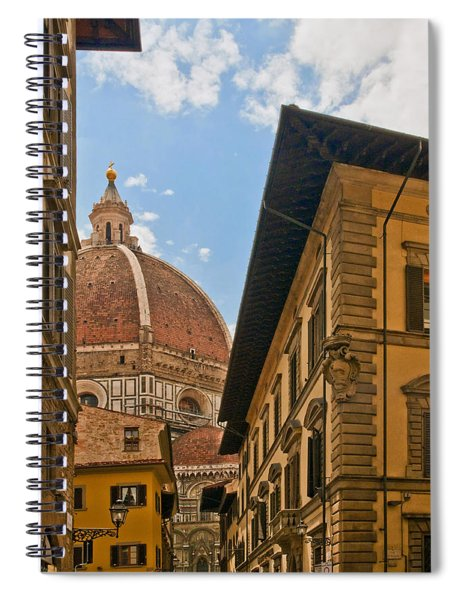View Of The Duomo Spiral Notebook